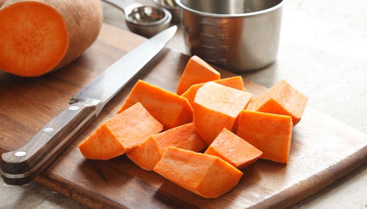Recipe: Sweet Potato and Kale Warm-Me-Up Soup