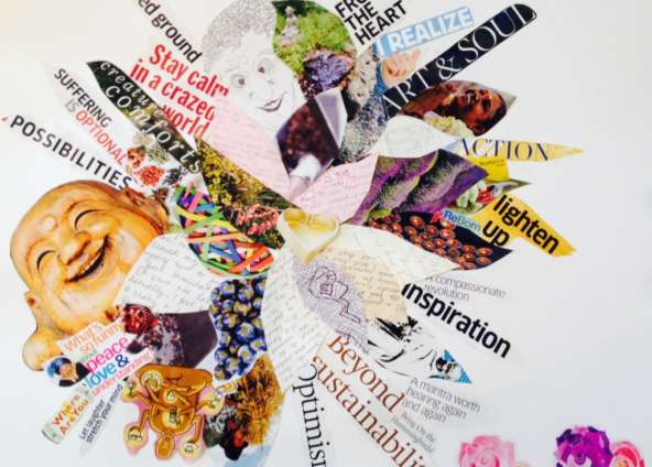 Vision Boards + Action =  Manifesting Your Dreams